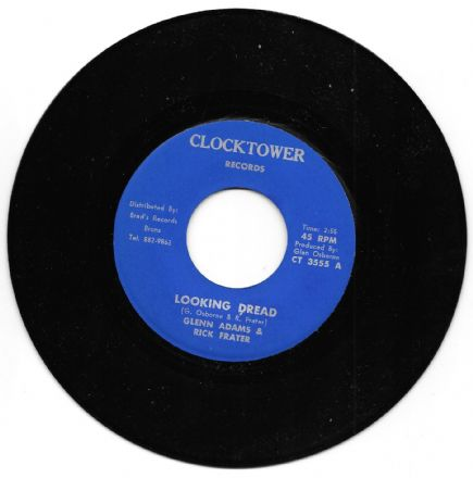 Glenn Adams & Rick Frater - Looking Dread / Dread Version (Clocktower) 7""